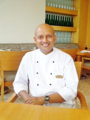 Chef Edridge Vaz