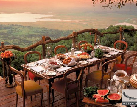 Ngorongoro Crater Lodge. Pic courtesy: ngorongorocrater.com