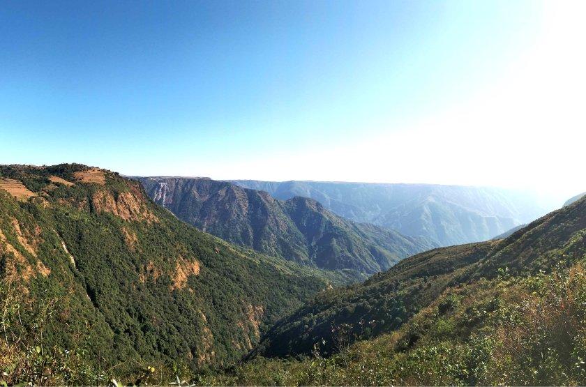Cherrapunji view