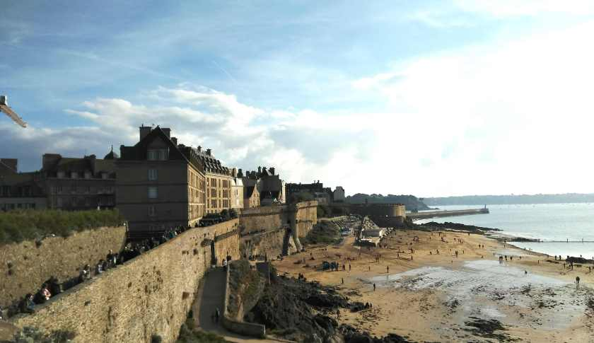 saint malo fort view