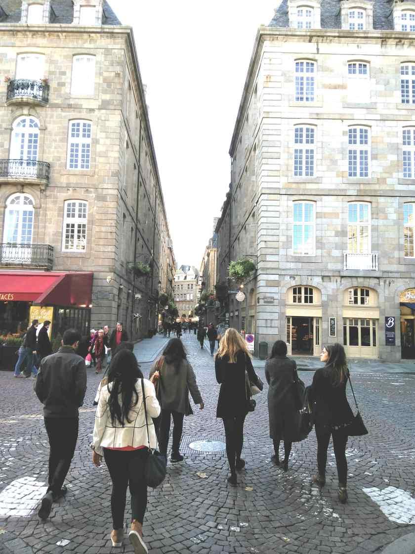 City Walk at Saint-Malo